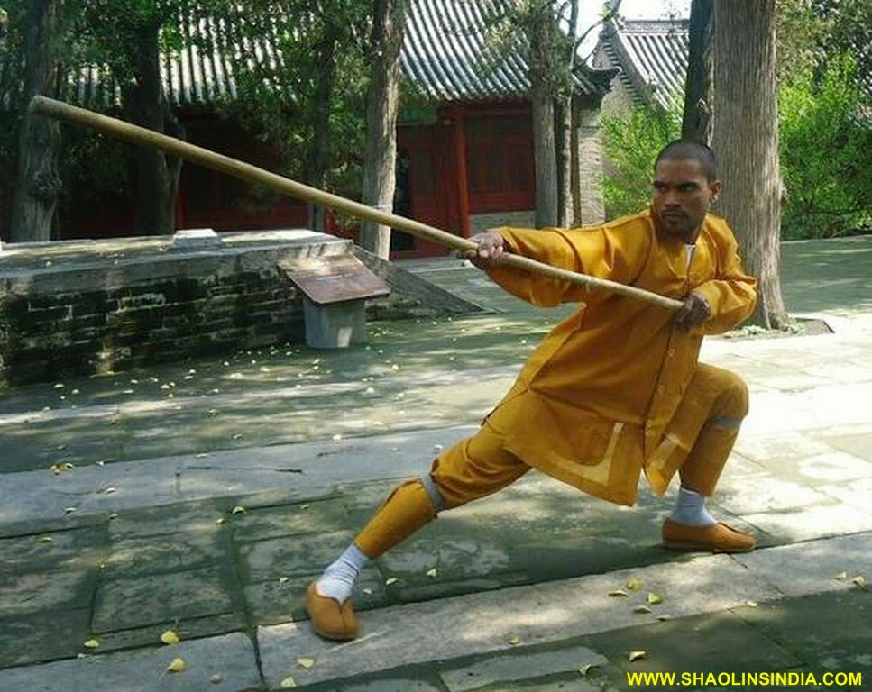 Shaolin martial arts talk this